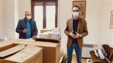 Emergenza Mormanno, dalla Puglia un carico di mascherine e tamponi