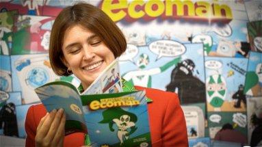 Ecco il supereroe dell'ambiente: Ecoross presenta le avventure di Ecoman