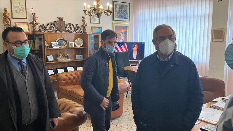 Il Commissario Sorical Calabretta ha visitato il Comune di Cassano all'Ionio