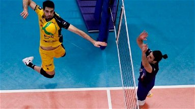 Volley, che esordio di Daniele Lavia in Champions League