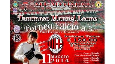 Rossano, partono le iscrizioni al memorial Tommaso Manuel Leone