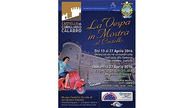 """Al castello di Corigliano la mostra """"Un Giorno in Vespa"""""""