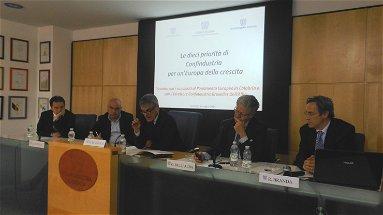 Confindustria Cosenza, presentate le priorità degli Industriali ai candidati al Parlamento europeo