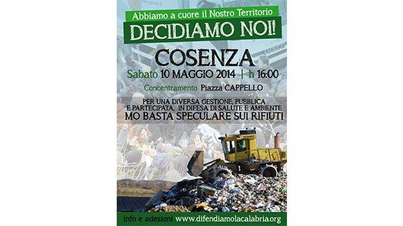Corigliano, Sel a Cosenza per una diversa gestione dei rifiuti