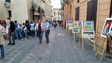 Nel centro storico di Rossano pittura, scultura, cinema, fotografia