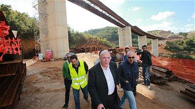 Sopralluogo di Mario Oliverio a tre grandi infrastrutture realizzate dalla Provincia