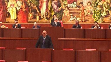 Antonio Scalzo e Pino Gentile presidente e vicepresidente del consiglio regionale della Calabria. Graziano questore.
