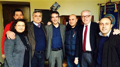 Corigliano ha una voce in Parlamento, Roberto Occhiuto incontra il sindaco Geraci