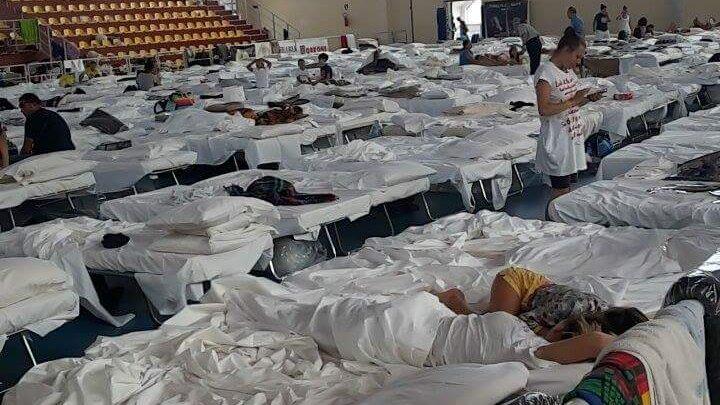 Alluvione Rossano, nel centro di accoglienza rimangono 150 sfollati