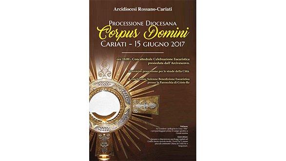 Cariati, domani la processione Corpus Domini