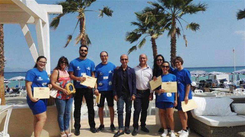 Spiagge cardioprotette a Rossano, consegnati brevetti