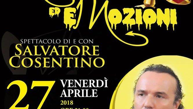 Corigliano Rossano: domani venerdì 27, Mozioni ed Emozioni di Salvatore Cosentino