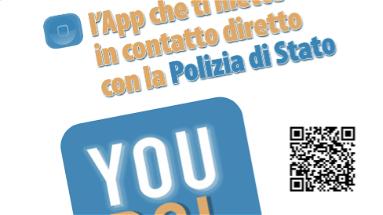 Polizia, arrestato cittadino extracomunitario grazie a YouPol