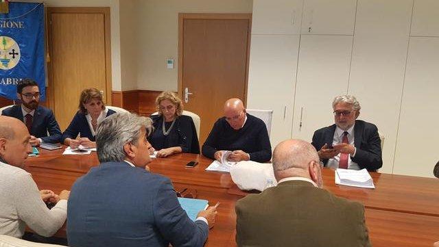 Oliverio ha incontrato la fondazione Arbëreshë