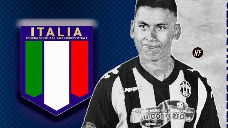 Andres Alberto Panarotto, dal Real Rogit all'Under 21 Nazionale di Minifootball. Parteciperà alla Coppa del Mondo della World Minifootball Federation