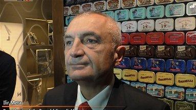 VIDEO - Il Presidente d'Albania Meta a Rossano ha incontrato il mondo delle imprese