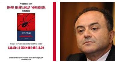 Oggi, sabato 15 dicembre a Rossano, il Procuratore Nicola Gratteri