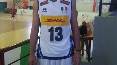 Il rossanese Gabriele Laurenzano trascina l'Italiavolley U17 agli Europei di Bulgaria