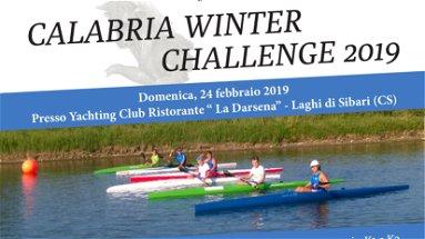 Campionato regionale di canoa e kayak. In Calabria il Winter Challenge 2019