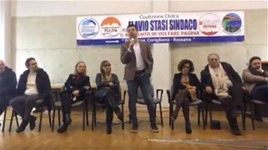 Flavio Stasi apre la campagna elettorale | VIDEO