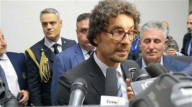 Toninelli a Corigliano-Rossano: Calabria regione più importante in cui ripartire con le infrastrutture | VIDEO