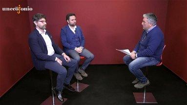 Un Eco dallo Jonio, in studio Daniele Torchiaro e Giulio Cavallo