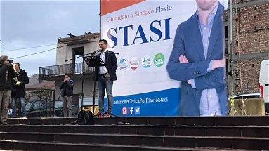 Flavio Stasi parte da Corigliano: costruiremo una classe politica nuova e autonoma | VIDEO