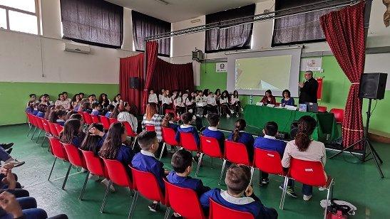 Gli scolari dell'I.C.