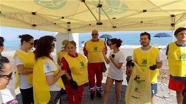 L'iniziativa Beach litter a Corigliano Rossano con Goletta Verde