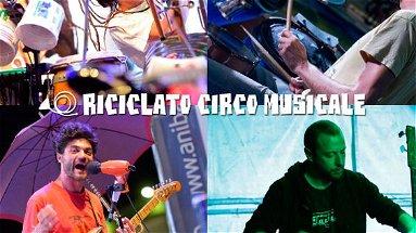 Riciclato Circo Musicale a Villapiana per sensibilizzare al rispetto dell'ambiente