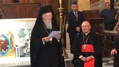 Con Bartolomeo di Costantinopoli Rossano riabbraccia le sue radici | VIDEO