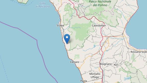 Scossa di magnitudo 3.2 in provincia di Cosenza