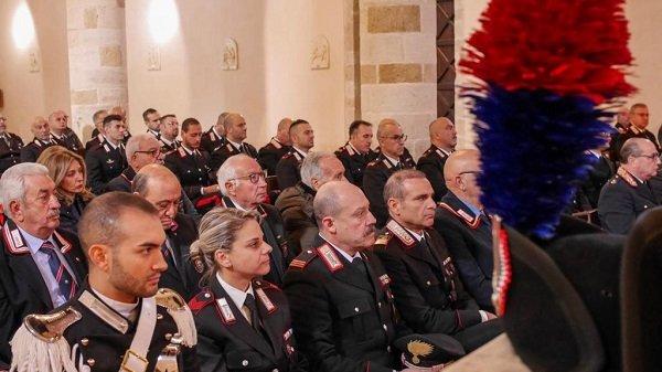 Corigliano Rossano: ai festeggiamenti per la Patrona dell'Arma dei Carabinieri presenti anche l'amministrazione comunale e le scuole