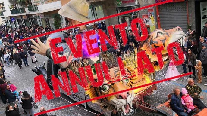 Dopo Castrovillari anche a Corigliano-Rossano annullate manifestazioni carnevale. Stasi: «No ad allarmismi»