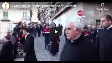 La Processioni dei Misteri di Rossano - VIDEO