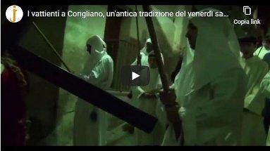 La Processione del Venerdì Santo a Corigliano - VIDEO