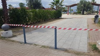 Sant'Angelo: dissuasori all'Anfiteatro Rino Gaetano