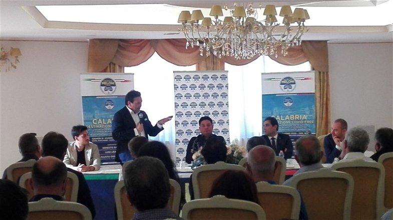 Calabria destinazione Covid Free, a Corigliano Rossano Fratelli d'Italia incontra gli imprenditori
