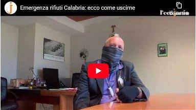 Emergenza rifiuti in Calabria: ecco come uscirne. Parla Ultimo - VIDEO