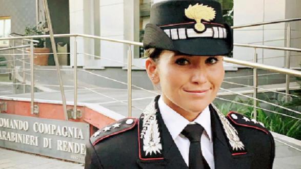 Il Capitano Mariachiara Soldano: per la prima volta un comandante donna in Calabria