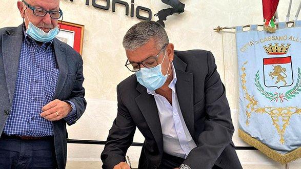 Cassano Ionio, consegnati i lavori per la videosorveglianza sul territorio comunale
