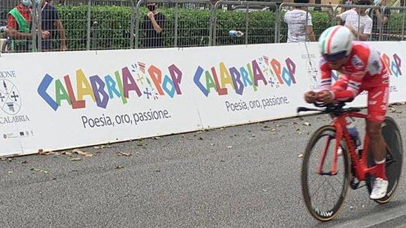 Ciclismo, Il Giro e la Calabria: il saluto della Santelli alla carovana della ventitreesima edizione