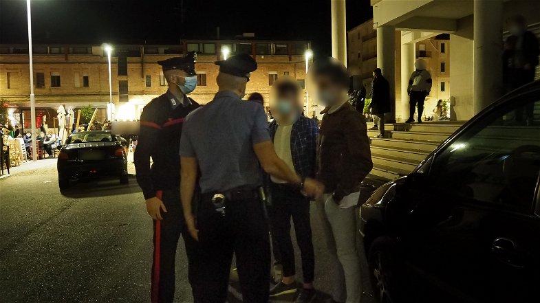 Norme anti-covid, a Corigliano denunciati 6 giovani
