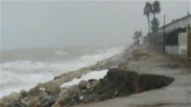 Maltempo, torna l'allarme erosione sulle coste di Crosia - VIDEO
