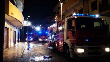 Rossano, a fuoco un appartenento a Sant'Angelo. Forse un cortocircuito
