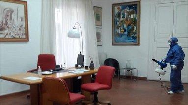 Nuova sanificazione nella sede municipale di Cariati