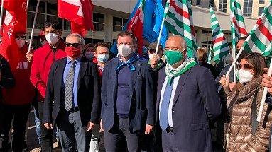 Cgil, Cisl e Uil: «Buon lavoro al Prefetto Guido Longo»