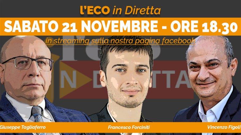 ECO IN DIRETTA - Dal Caso Calabria all'imbarazzo del Polo Covid. Cosa accadrà?