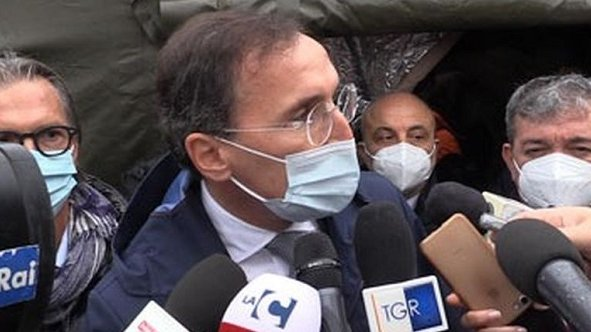 Emergenza Covid: Ospedale da campo a Cosenza, sopralluogo di Spirlì e Boccia