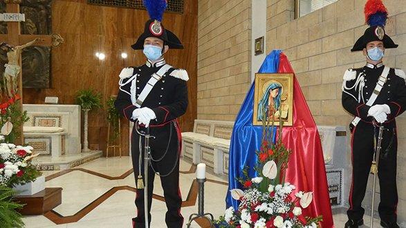 Il Comando provinciale dei Carabinieri festeggia la Virgo Fidelis